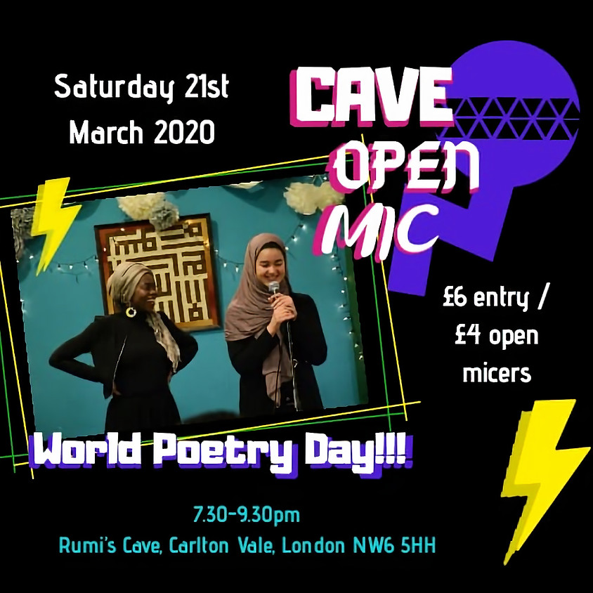 Cave Open Mic