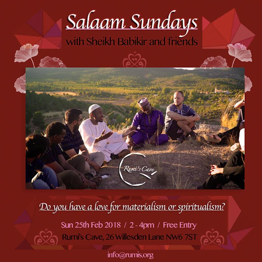 Salaams Sundays With Spiritual Mentor Sheikh Babikir