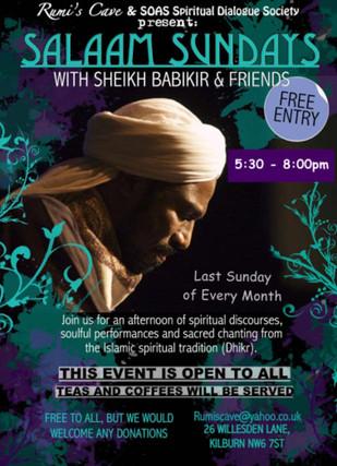SALAAM SUNDAYS w/ Sheikh Babikir & Moustafa Hassan (Artist & Calligrapher)