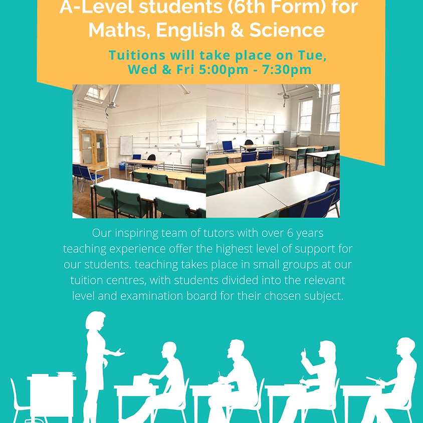 Tuition for GCSE & A-Levels