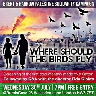 WHERE SHOULD THE BIRDS FLY - FIDA QISHTA (PALESTINE)