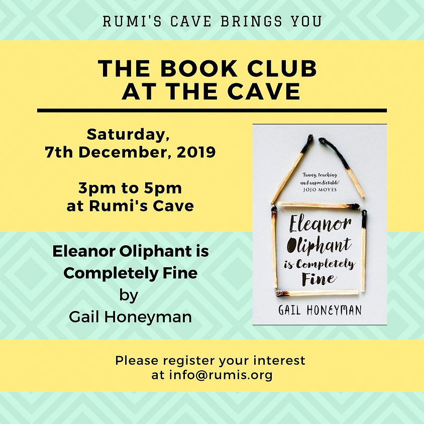 Rumi's Book Club: Eleanor Oliphant is Completely Fine