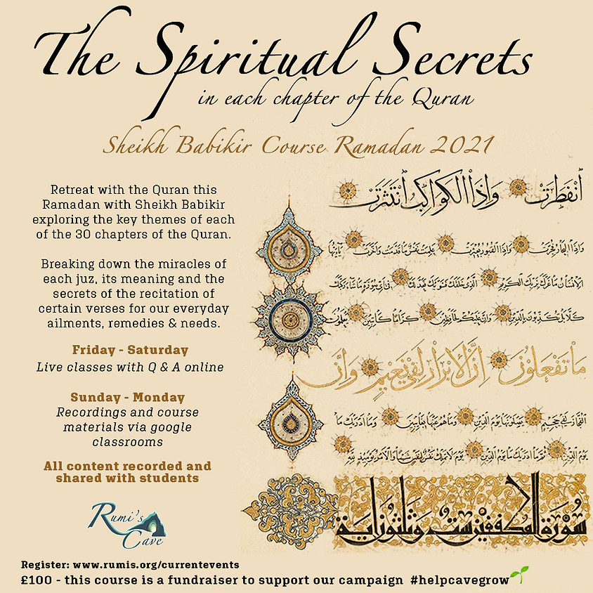 The Spiritual Secrets Of Each Chapter In The Quran
