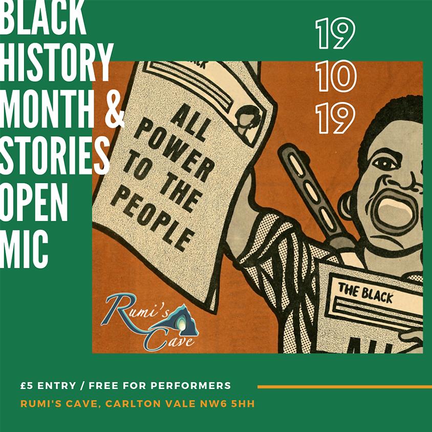 Open Mic: Untold Histories & Stories