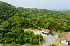 Arial view of Phumula Guest Cottage