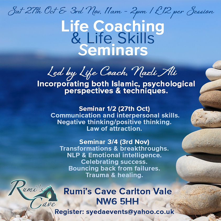 Life Coaching  & Life Skills Seminars