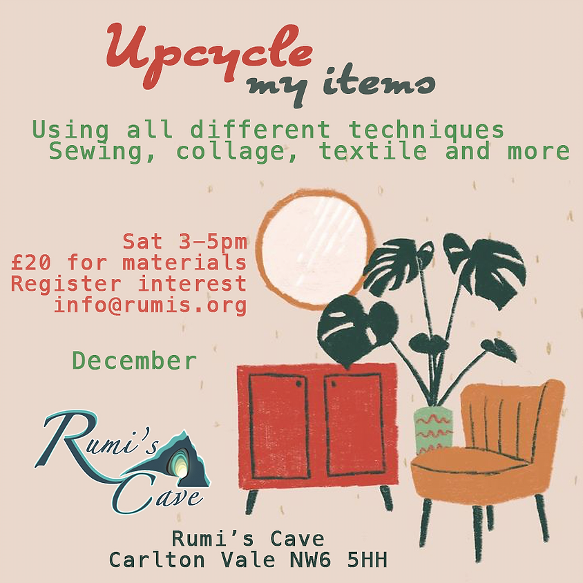 Upcycling my items!