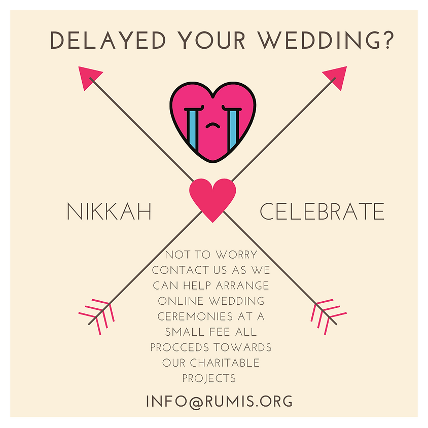 Wedding Booking With Rumi's Cave