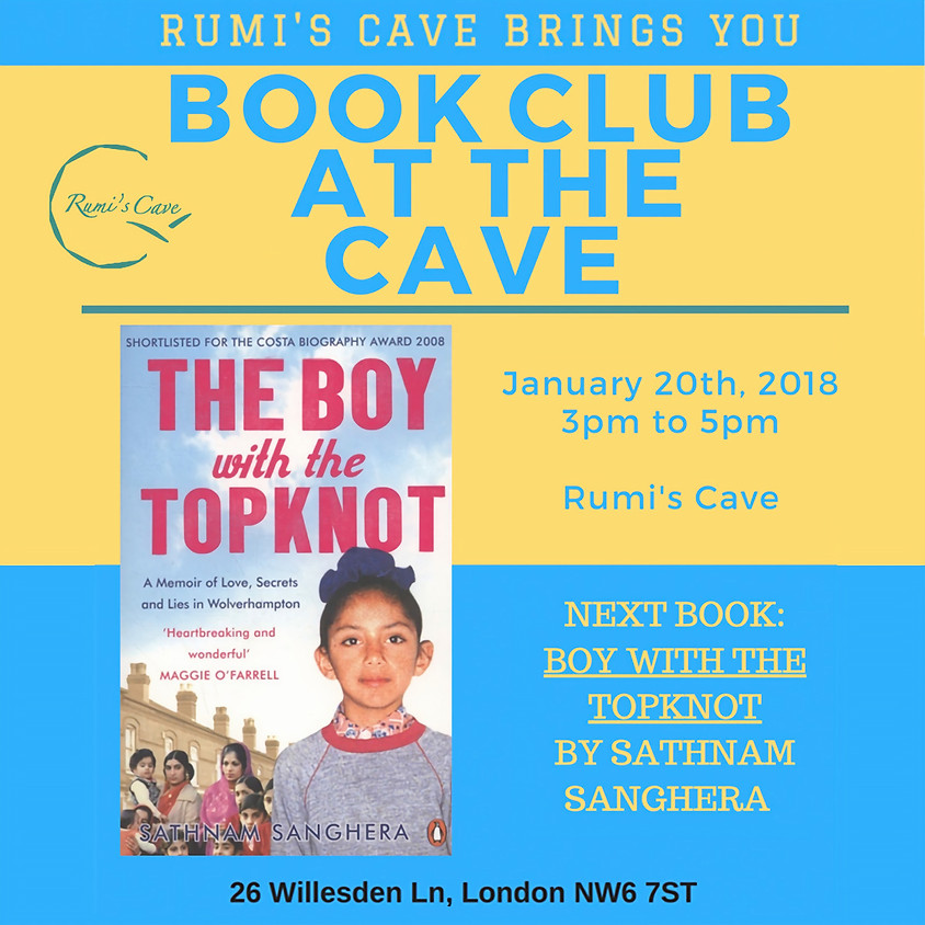 """Rumi's Book Club: """" Boy With The Topknot"""" By Sathnam Sanghera"""