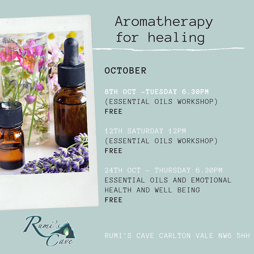 Aromatherapy for Healing & Wellbeing