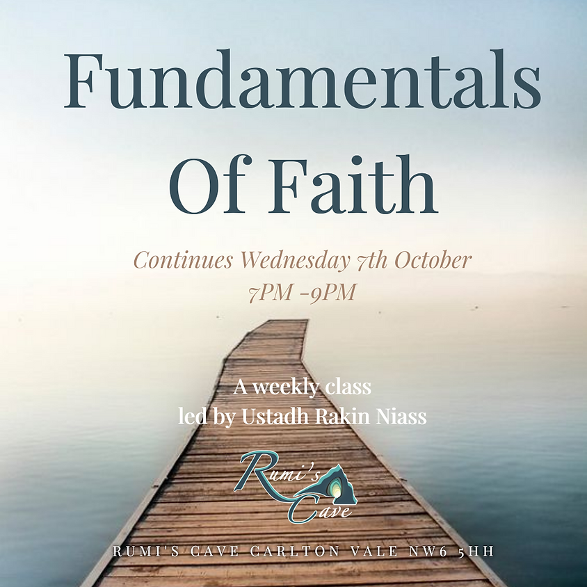 Fundamentals of Faith (Class 1)