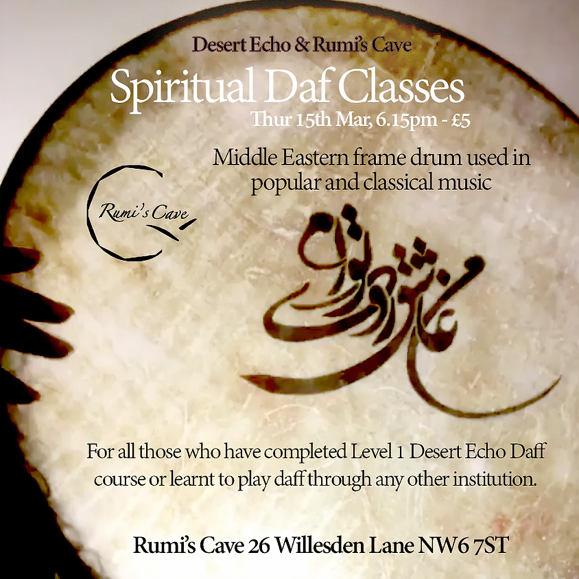 Spiritual Daf Classes led by Desert Echo