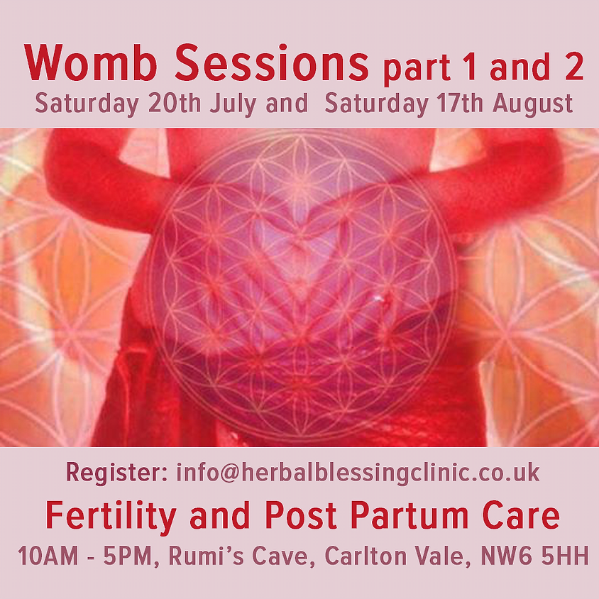 Womb Sessions part 1 and 2