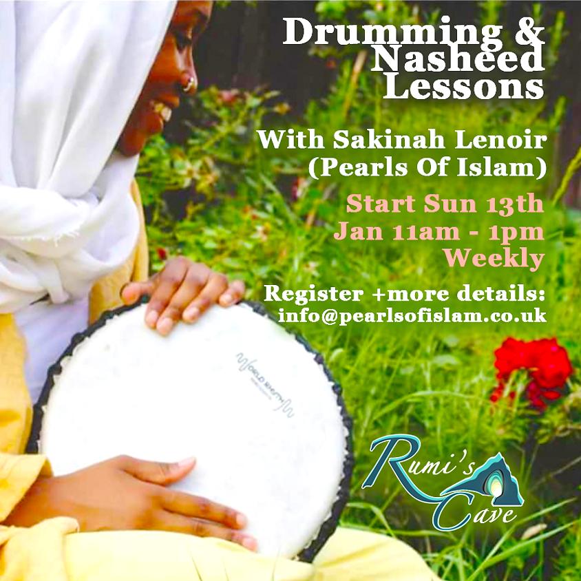 Drumming & Nasheed Lessons With Sakinah Lenoir