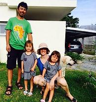 Gima Family photo at Izumi Mango Orchard
