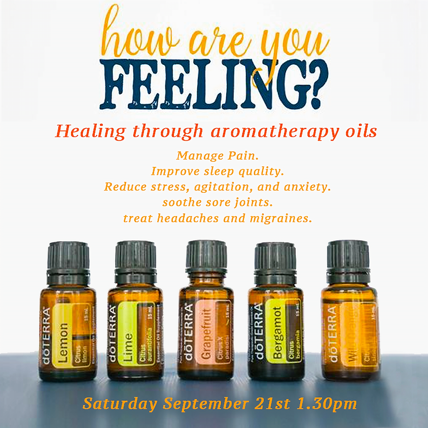 Healing through aromatherapy