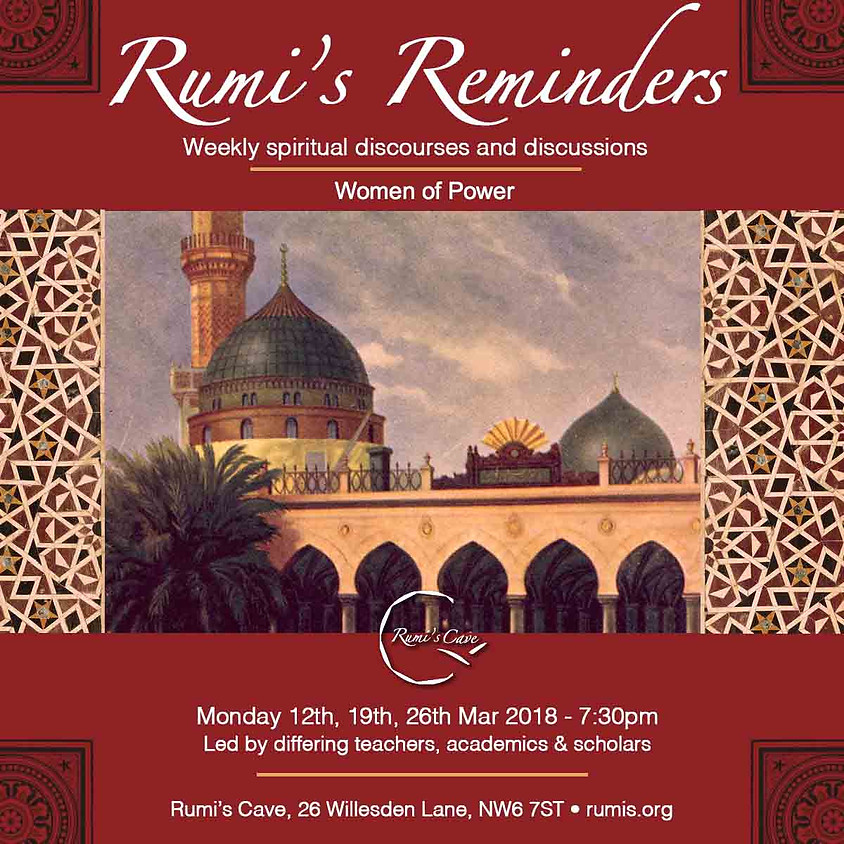 Rumi's Reminders, Women Of Power