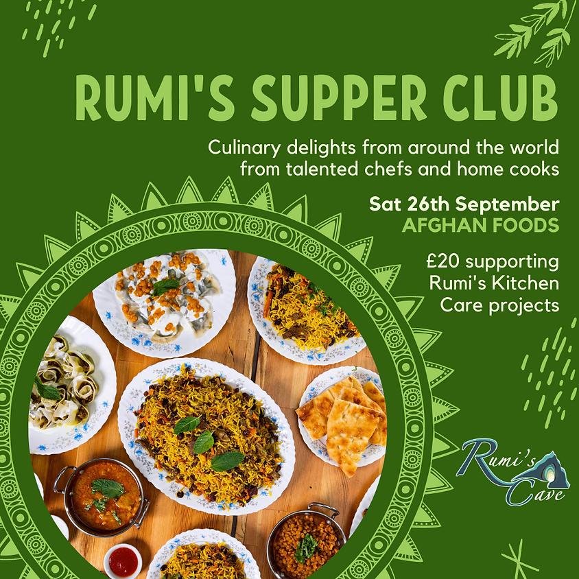 Rumi's Supper Club: Afghan