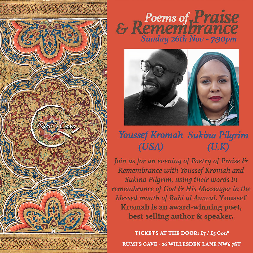 Poems of Praise and Remembrance -Youssef Kromah & Sukina Pilgrim