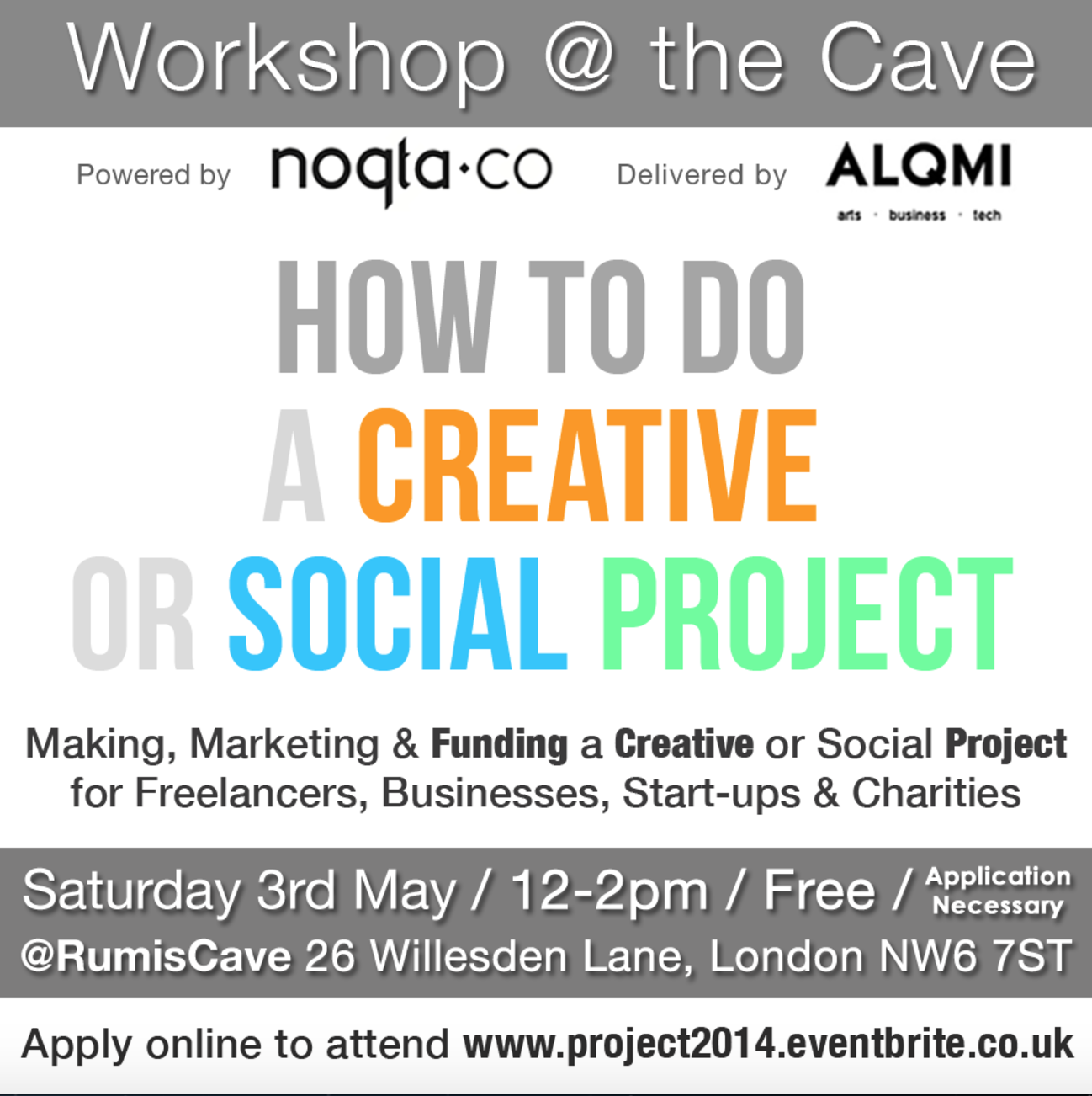 How to do a Creative or Social Project (Workshop) | rumisorg