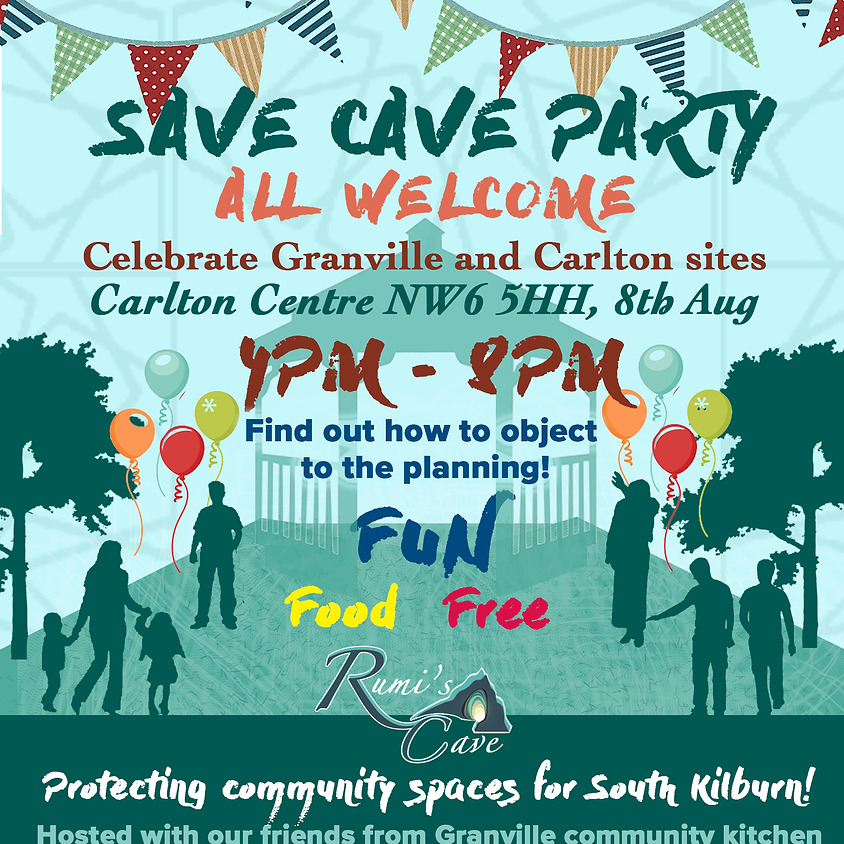 Save Cave Party