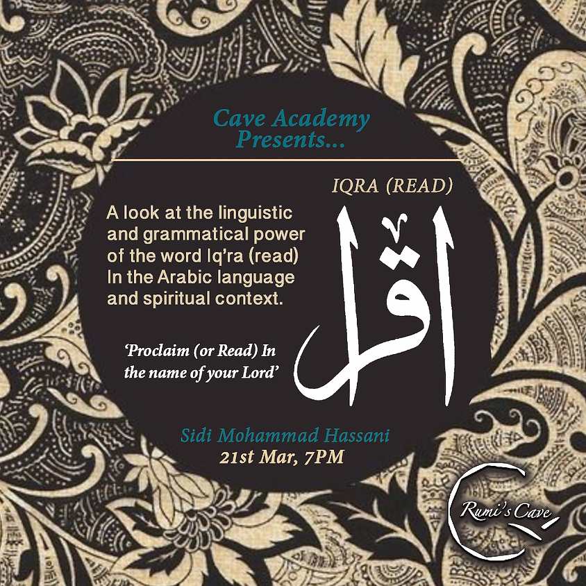 Cave Academy: Iqra (read) exploration of vocabulary in the Quran