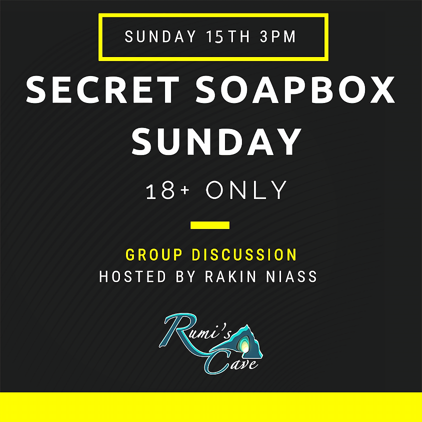 Secret Soapbox Sunday