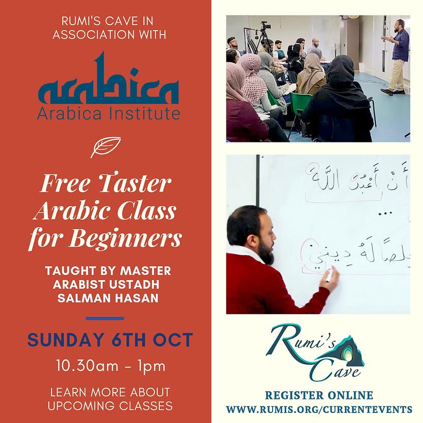 Arabica Free Taster Beginners Class