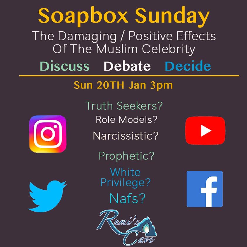 Soapbox Sunday: The damaging / positive effects of Muslim Celebrities