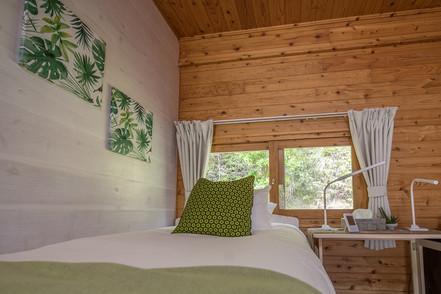 Phumula Cottage comfortable single bed