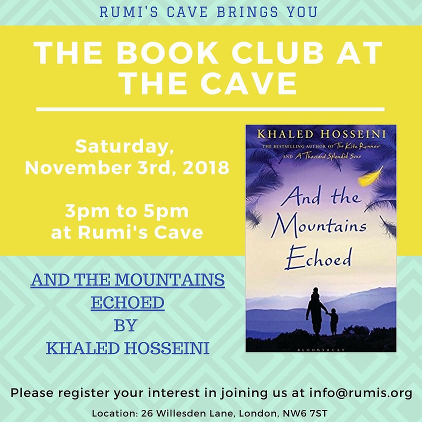 "Rumi's Book Club: Khalid Hosseini, ""And the mountain echoed"""