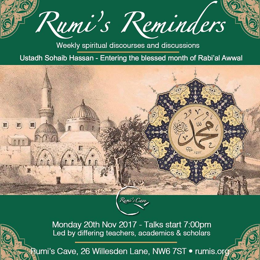 Rumi's Reminders - Welcoming Rabi al Awwal