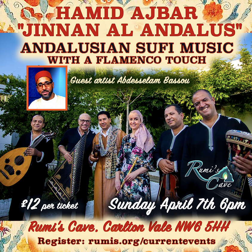 Jinnan Al Andalus  – Andalusian Sufi Music With A Flamenco Touch