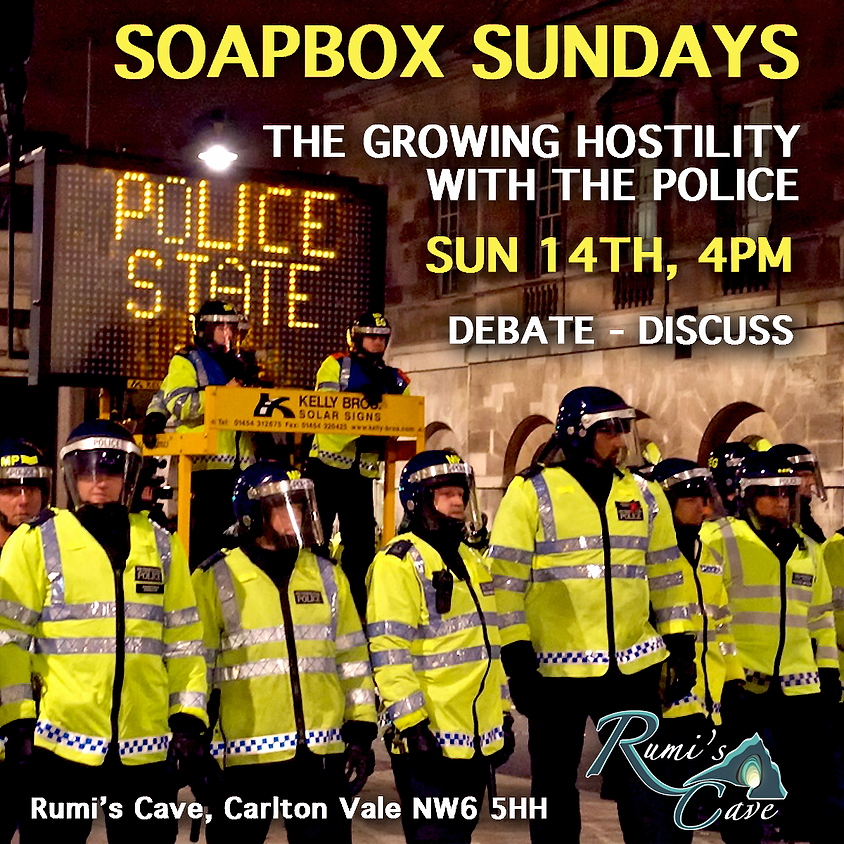 Soapbox Sunday: The growing hostility with the police.