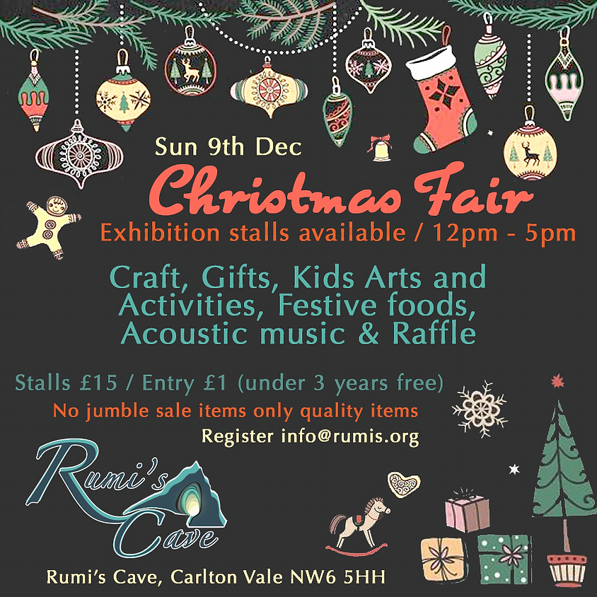 Christmas Fair At Rumi's