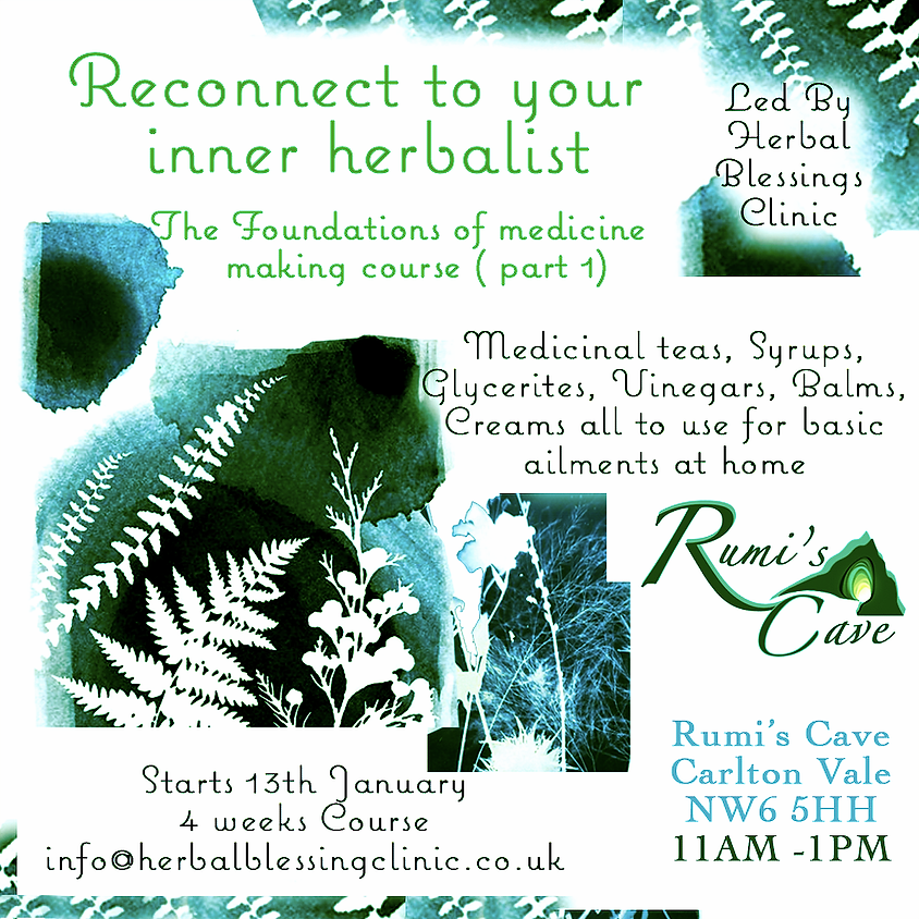 Reconnect To Your Inner Herbalist