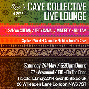 LIVE LOUNGE @ THE CAVE ft. SAN'AA SULTAN / TROY KAMAL & RU1 FAM / MAY 2014