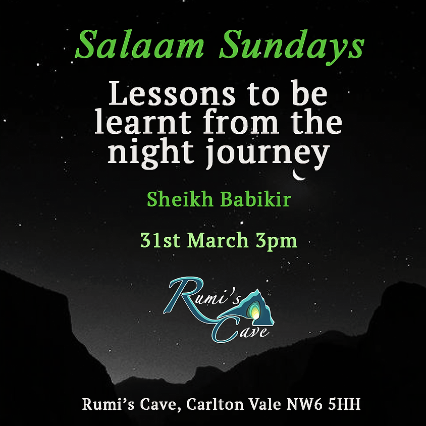 Salaam Sundays: Lessons to be learnt from the night journey