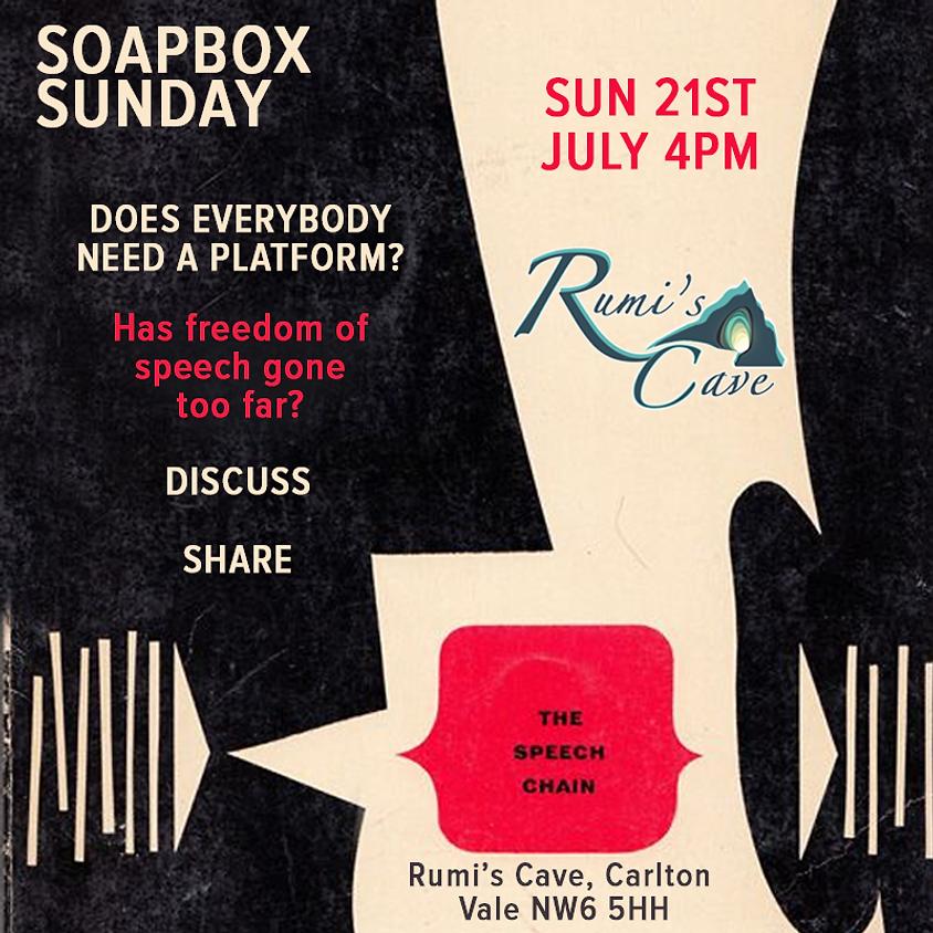 Soapbox Sunday: Does everybody need a platform?