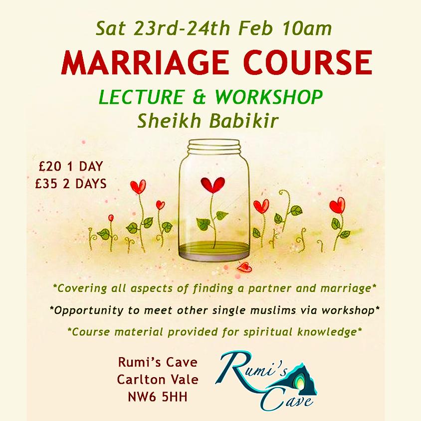 Marriage Course With Sheikh Babikir