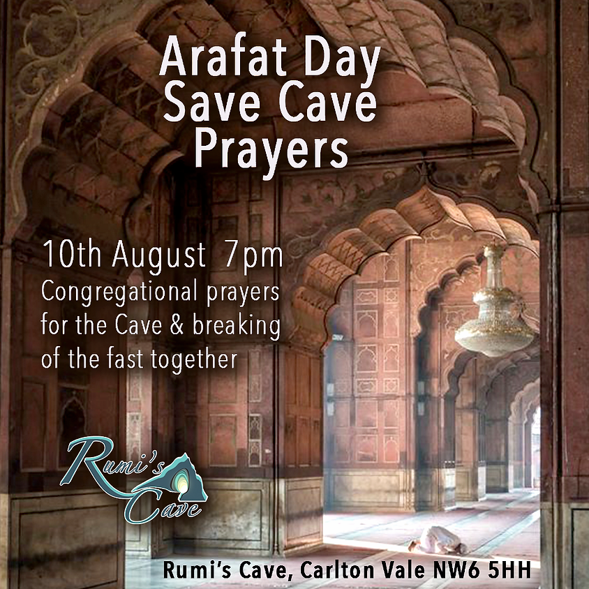Arafat Save Cave remembrance and breaking of the fast