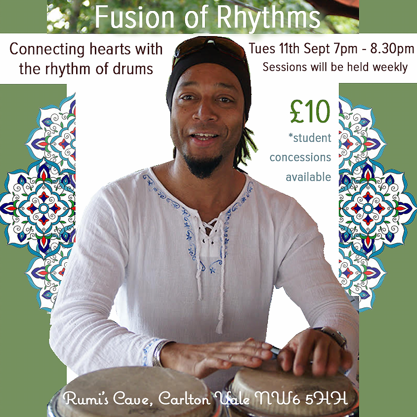 Fusion of Rhythms, led by musician Tello Morgado