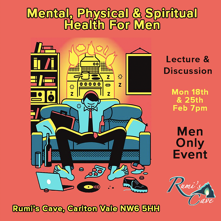 Mental, Spiritual, Physical Health For Men Only