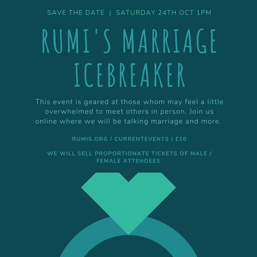 Rumi's Cave Marriage Icebreaker