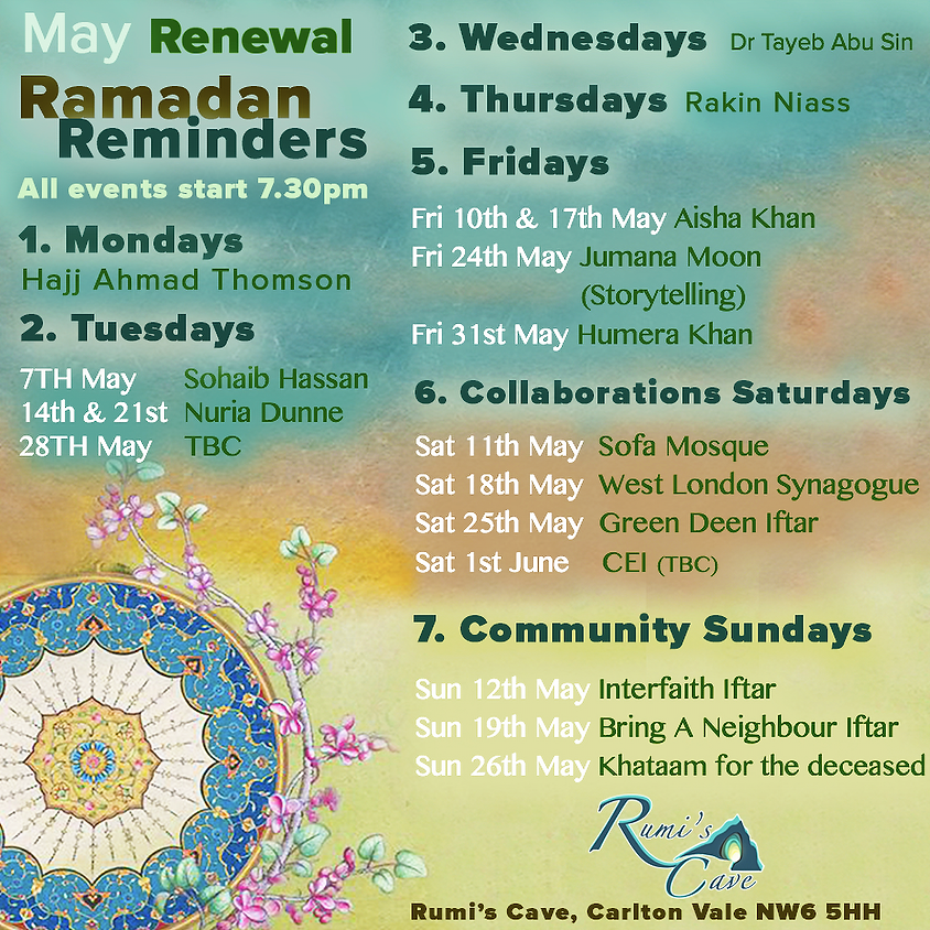 Renewal: Ramadan At Rumi's Cave