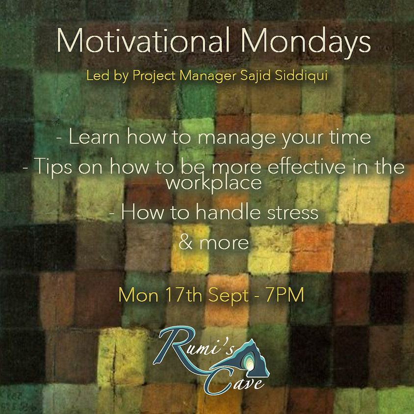 New - Motivational Mondays: How to project manage your life!