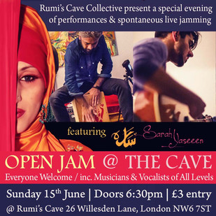 OPEN JAM @ THE CAVE / JUNE