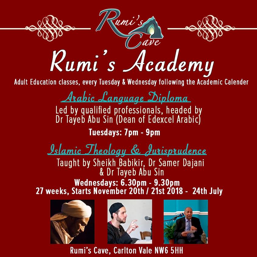 Rumi's Academy: Arabic Language Diploma & Islamic Theology