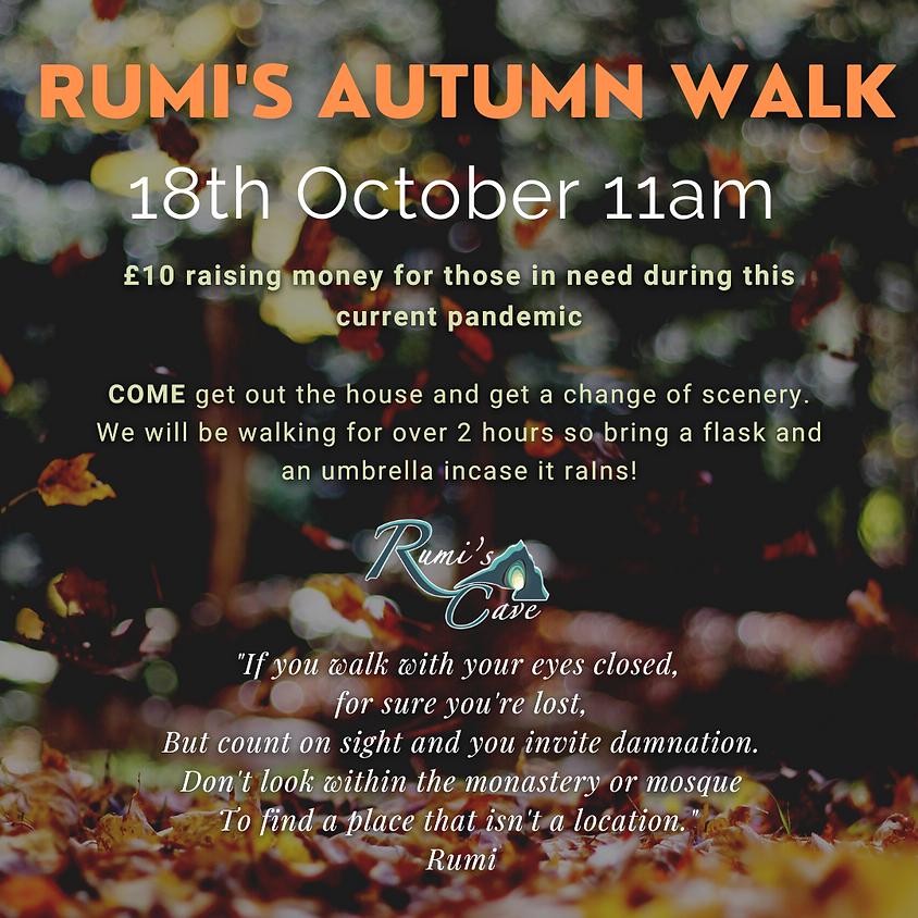 Rumi's Autumnal Walk