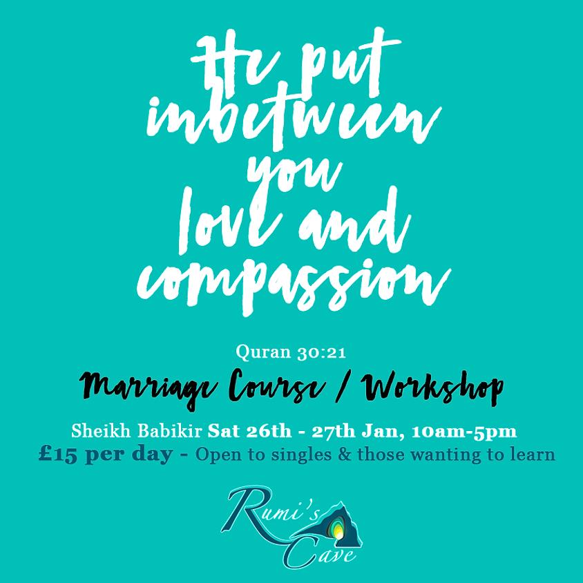 Marriage Course / Workshop With Sheikh Babikir